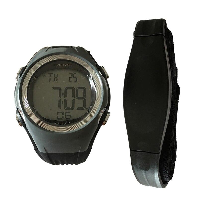 2 Fitness Pulse Calories Wireless Heart Rate Monitor Digital polar watch Men Women Sports WristWatches Running Cycling Chest Strap