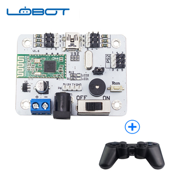 6CH 4.0 Bluetooth Servo Controller with PS2 Handle Over-Current Protection Remote control RC Parts Robot