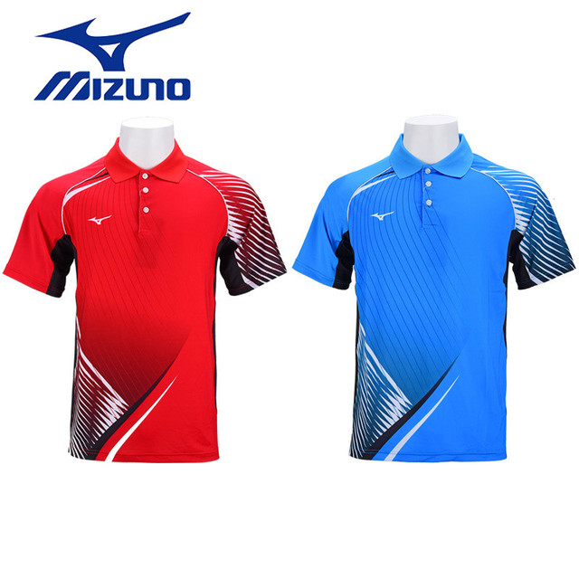 40234dfb Mizuno Table Tennis Shirts Badminton Shirts For Men Tennis Jersey Quick Dry  Clothes Breathable Short Sleeve T Shirt 82CT8011