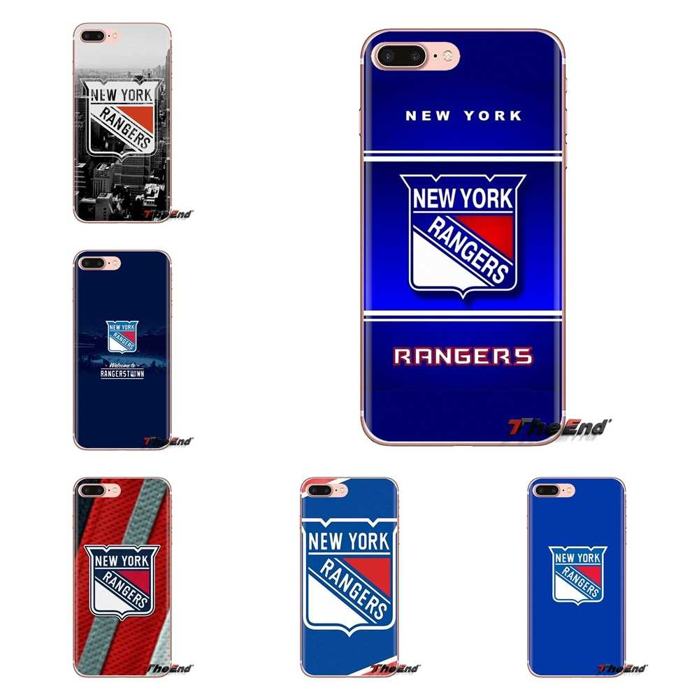 Ice Hockey new york Rangers Silicone Case Cover For Xiaomi Mi3 Samsung A10 A30 A40 A50 A60 A70 Galaxy S2 Note 2 Grand Core Prime