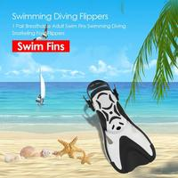 1 Pair flexible Adjustable Adult Silicone Swim Fins Swimming Diving Snorkeling Foot Flippers For 31 45 EUR & 42 45 EUR Size