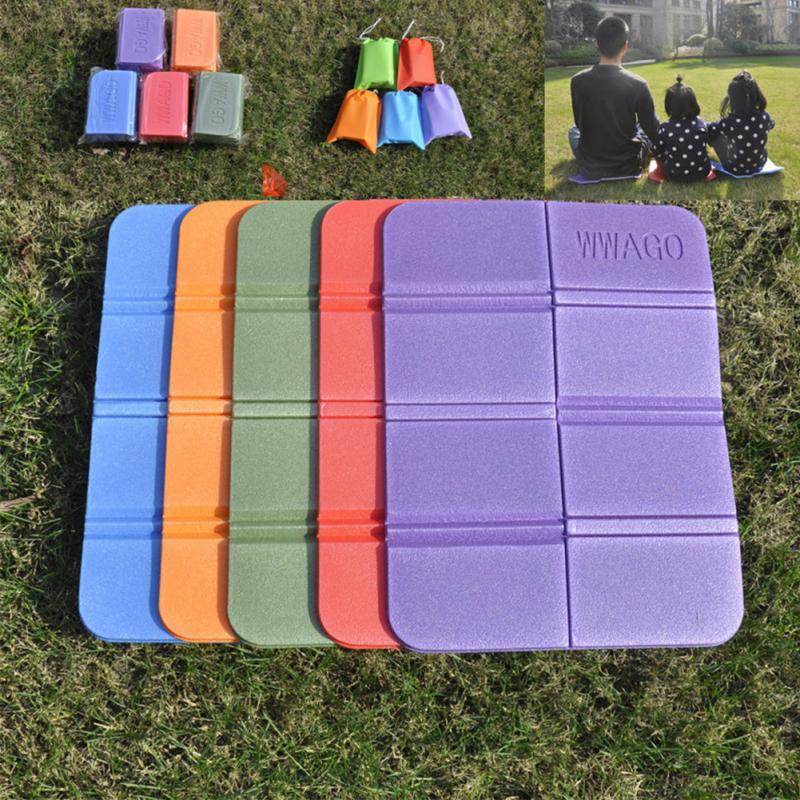1PC Folding Foam Pads Camping Hiking Seat Outdoor Cushion Picnic Waterproof Portable XPE Camping Mat Chair Seat Pads