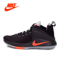 Original Official NIKE ZOOM WITNESS EP Men's Breathable   Basketball     Shoes   Sneakers Outdoor Sports 2018 New Arrival 884277-006