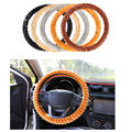 Universal Car Steering-Wheel Cover winter Warm cute plush steering wheel cover funda volante coprivolante stuurhoes