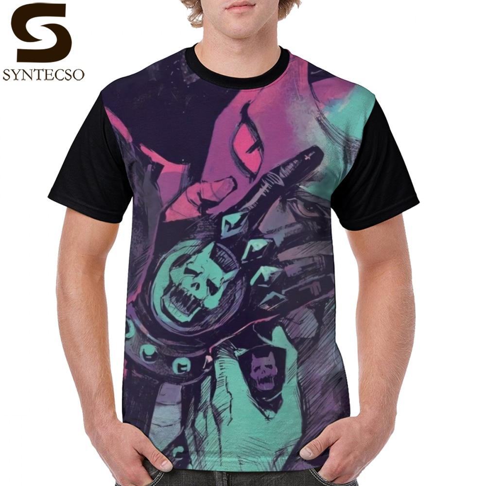 Jojo   T     Shirt   Killer Queen   T  -  Shirt   100 Polyester Classic Graphic Tee   Shirt   Fun Short Sleeves Plus size Printed Male Tshirt