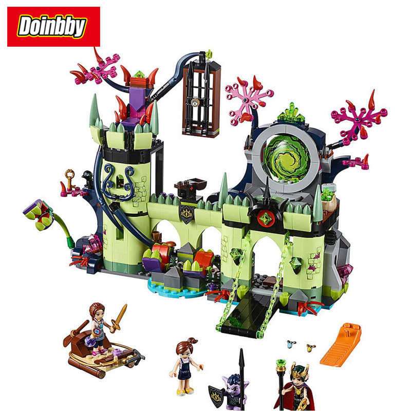 Lepin 30011 Girl Friends Breakout from the Goblin King's Fortress Building Block Brick Toys Kids Gifts 750Pcs Compatible 41188 the girl from hard times hill