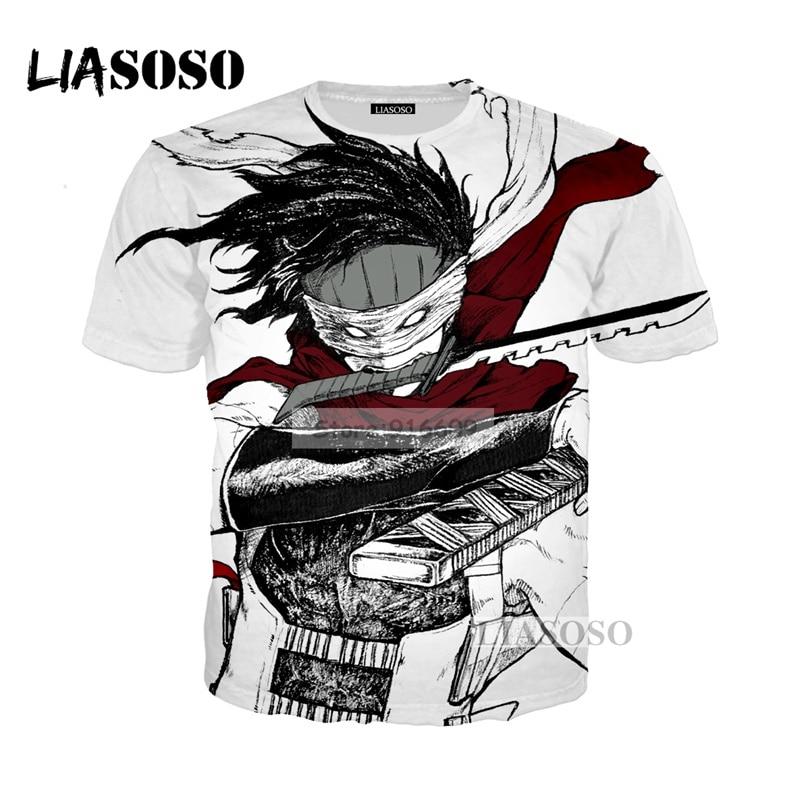 LIASOSO NEW Anime Boku No Hero My Hero Academia Cosplay Tees 3D Print t shirt/Hoodie/Sweatshirt Unisex Good Quality Tops G768