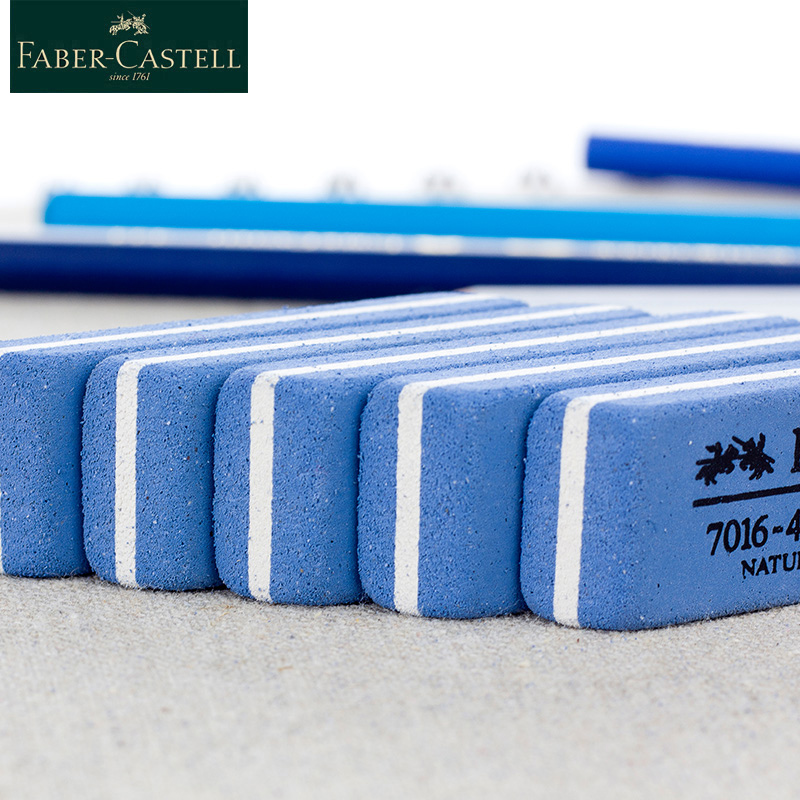 Faber Castell Eraser Rubber Natural Rubber Eraser 1Pcs Faber-castell 7016 Cute Eraser Gel Pen Ink Pen For School Supplies