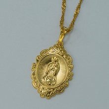 Christian Jewelry Virgin Mary Pendant Necklace