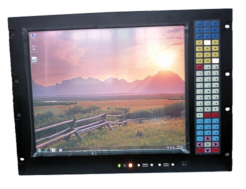 Calculator industrial 8U Rack Mount, chipset 945GC, LCD de 17 inch, - Calculatoare industriale și accesorii - Fotografie 2