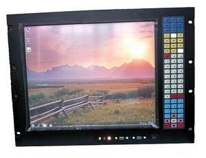 Image 2 - Ordinateur industriel à support 8U, poste de travail industriel à puce 945GC, écran LCD 17 pouces, processeur LGA775, 2 go de RAM, disque dur de 500 go