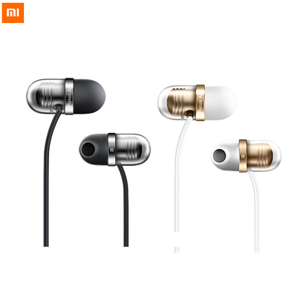 Original Xiaomi Capsule Earphone Silicone Earbuds Earphone With Microphone For Moblie Phones
