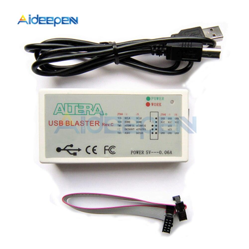 FT245 + (CPLD) CPLD USB Blaster descargar Cable FPGA/(CPLD) CPLD Downloader Altera de alta velocidad Cable de descarga