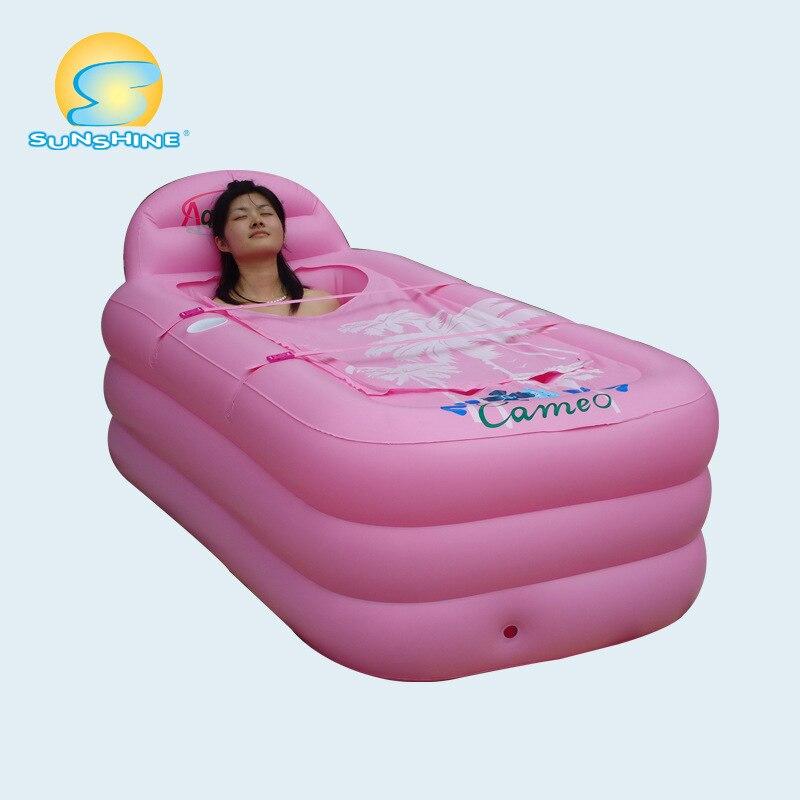 spa pvc pieghevole portableinflatable vasca da bagno gonfiabile vasca 1508048 cm banheira