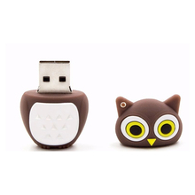 Usb flash drive memory stick pen drive 8GB 16GB 32GB 64GB cartoon bird
