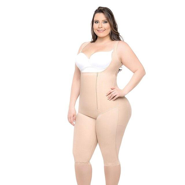 Butt Lifter Waist Trainer Bodysuit Women Push Up Shapewear Plus Size 6XL 5XL Hot Shapers SModeling Strap Black Beige Underwear