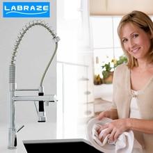 Германия LABRAZE растительное стиральная бассейна кухня раковина кран горячей и холодной потянув тип кухонный кран повышение пружину