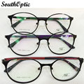 Retro óculos armações de óculos de aro cheio de armações de óculos para homens óculos receituario marco ojos 6086
