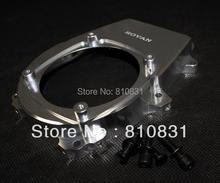 Freeshipping CNC metal engine side cover for 26cc 29cc 30 5cc hpi baja Rovan km