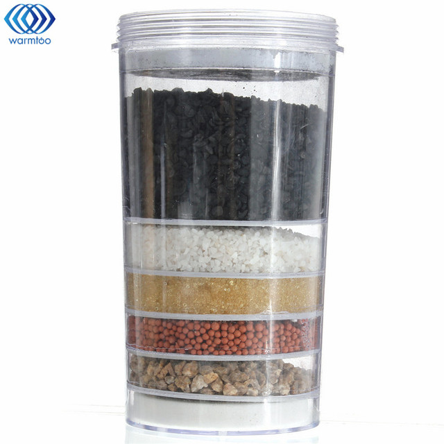 Top Ceramic Activated Carbon Mineral Dispenser Water Filter Purifier  Replacement Cartridge Kitchen Faucet Accessories