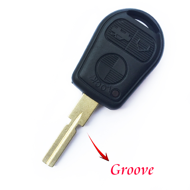 Image 3 - Replacement Car Remote key Fob Case For BMW E39 E36 E31 E32 E38 Smart key Shell 3 Buttons Auto Control key Cover Uncut Blade-in Car Key from Automobiles & Motorcycles