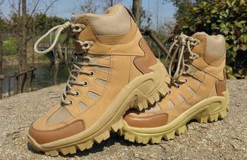 Watvögel Mit Stiefeln   Sport Armee Herren Boots Tactical Wüste Outdoor Wandern Camping Militärischen Enthusiasten Meeres Männliche Kampf Schuhe Angeln Waders