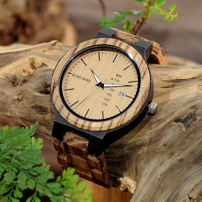 wood band wristwatches fashion bobo bird new gifts items (20)