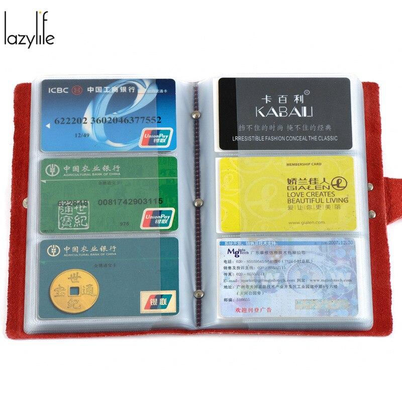 LAZYLIFE 2017 Womens Credit Card Holder For Men ID Card Holder Business Cardholders