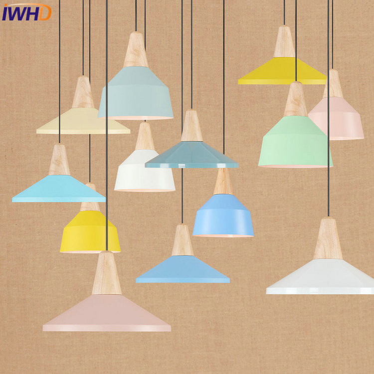 IWHD Iron Vintage Industrial LED Pendant Lights Creative RH Loft Pendant Lamp Colorful Hanglamp Fixtures Home Lighting Luminaire iwhd loft style led pendant light industrial vintage pendant lamp iron retro droplight rh hanglamp fixtures for home lighting