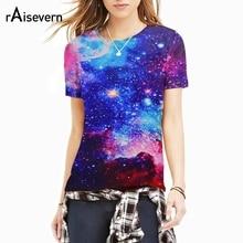Raisevern Galaxy Space 3D T-shirt Men/Women 3d T Shirt Print Nebula T-shirt Fashion Brand Harajuku Tops Tees M-XXL Dropship