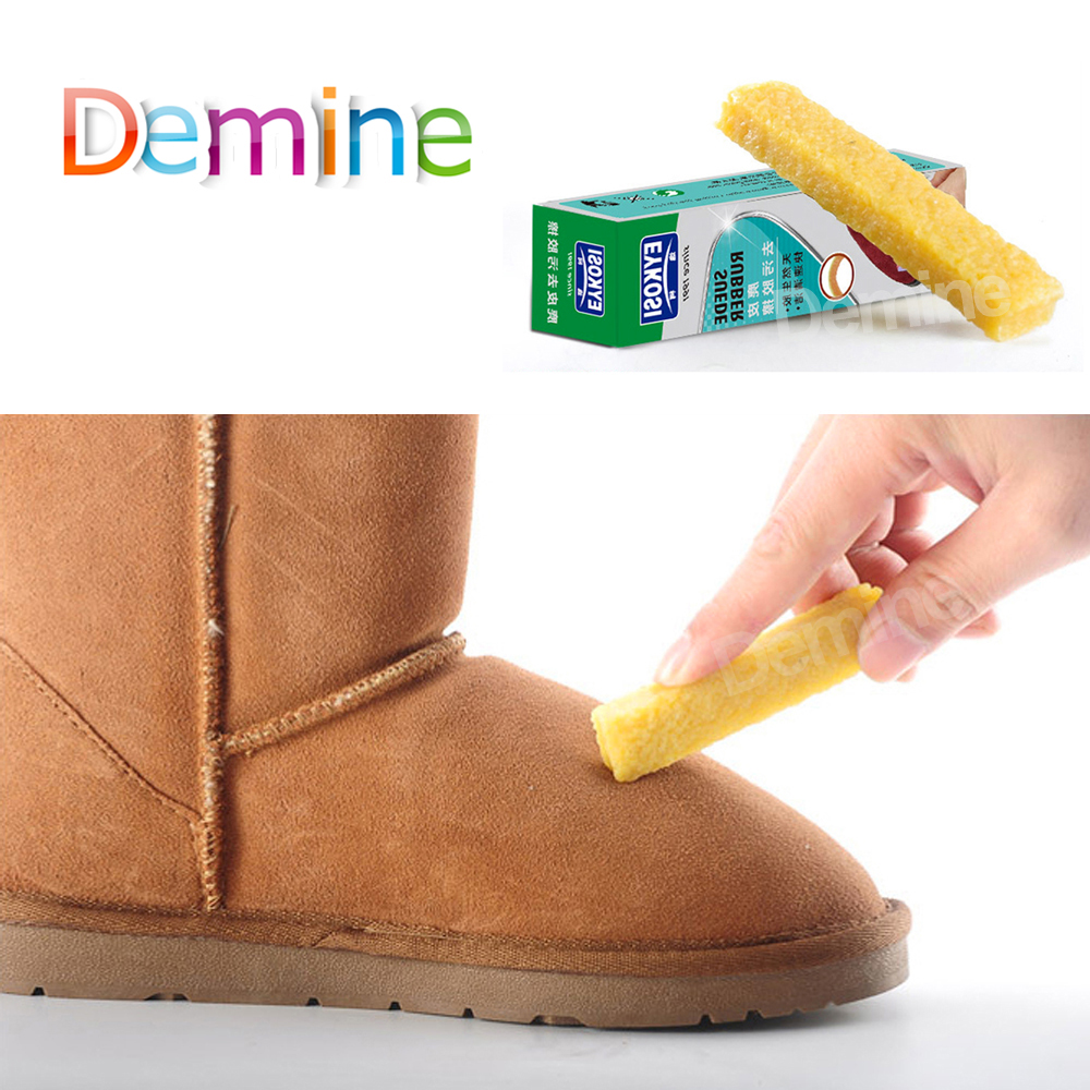 Demine Shoes Rubber Eraser For Suede Nubuck Leather Stain Boot Shoes Cleaner Cleaning Easy To Carry Shoes Cleaning Tool