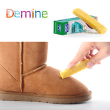 Demine Shoes Rubber Eraser for Suede Nubuck Leather Stain Boot Shoes Cleaner Cleaning Easy to Carry Shoes Cleaning Tool(China)