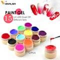 Venalisa pintura gel de uñas Venta caliente de arte uv led 180 colores 5 ml profesional pintura color esmalte de uñas de gel uv color gel laca geles