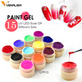 Venalisa pintura gel de uñas Venta caliente de arte uv led 180 colores 5 ml profesional pintura color esmalte de uñas de gel uv color gel laca geles