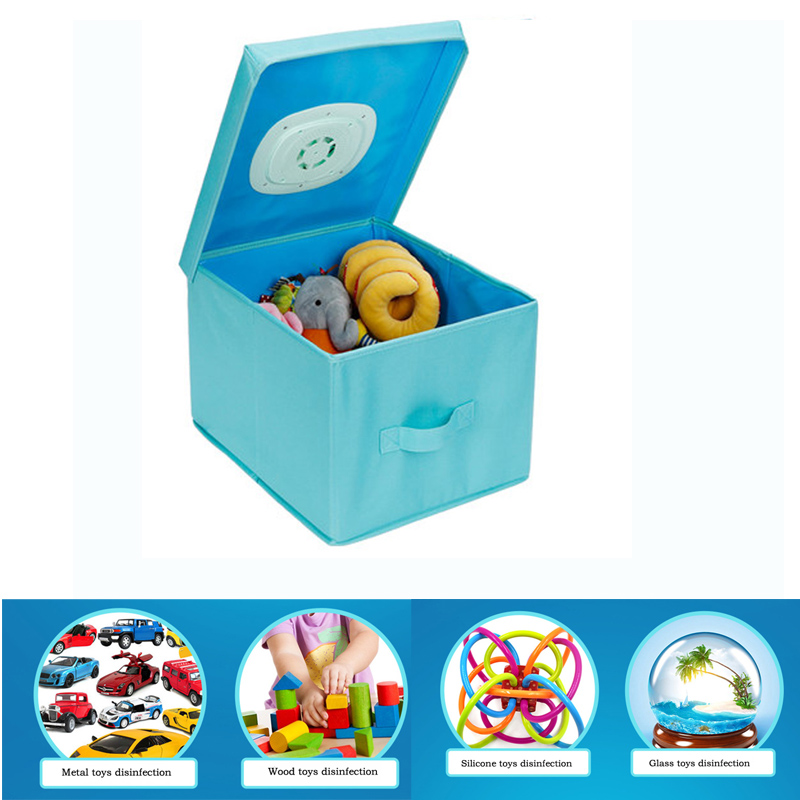 Portable collapsible children's toys UV lamp disinfection of outdoor ozone double sterilization storage box lights uv lamp of wp606