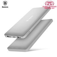Baseus 10000mAh Dual USB Power bank Portable Mobile Phone Charger External Battery For iPhone 7 6s samsung S8 huawei xiaomi