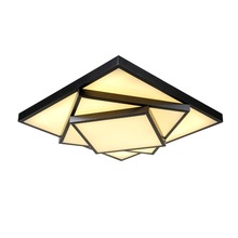 Modern Led Ceiling Light White or Black Painting Acrylic Decorative Lampshade Kitchen lamp lamparas de techo Modern Lamps