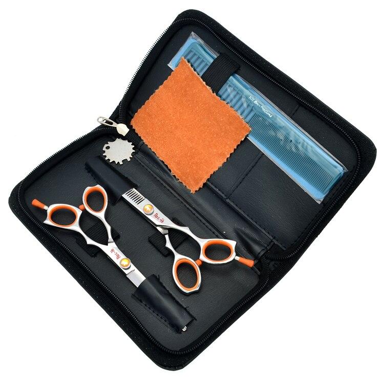 Hair Scissors Kits  Barber Hair Shears Roc-itdog Cutting Scissors and Thinning Scissors JP440C,1sets/Lot Brand New LZS0081