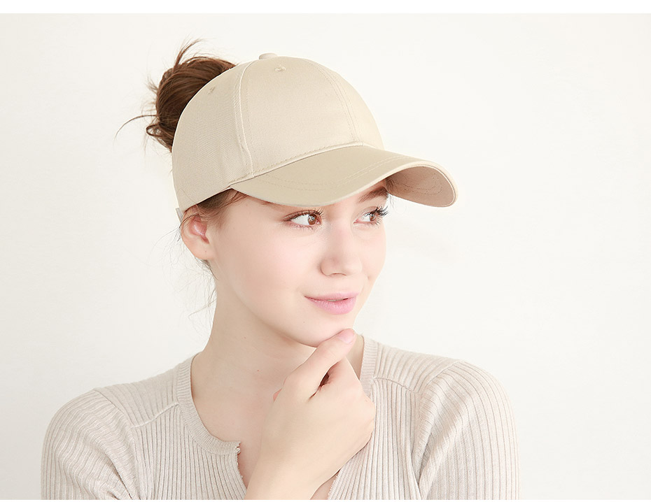 01d186ce9 US $5.0 50% OFF|FURTALK New Arrivals Ponytail Baseball Cap Women Messy Bun  Baseball Hat Snapback HTPU007-in Women's Baseball Caps from Apparel ...