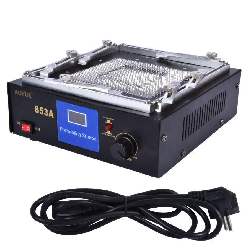 Area Infrared 110V Mm 130 Heating IR 220V Preheating Soldering Station Disk 130 Rework Table Digital Preheating Station Station