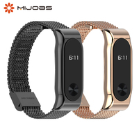 Mi Band 2 In Metallo Cinturino Da Polso Bracciale In Acciaio Inossidabile per Xiaomi Mi Banda 2 Accessori Intelligenti Orologio Miband 5 4 3 2 Wristband della fascia