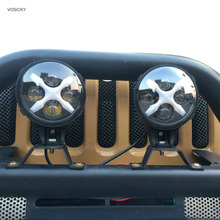Vosicky 6 дюймов светодиодный фонарь Spotlight 60 Вт с x угол Для глаз фар для Jeep 4×4 4WD offroad
