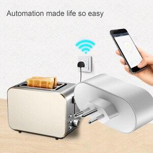 Image 4 - brazil products Smart home smart remote control products WIFI smart automation regulation row plug Brazilian gauge WIFI plug