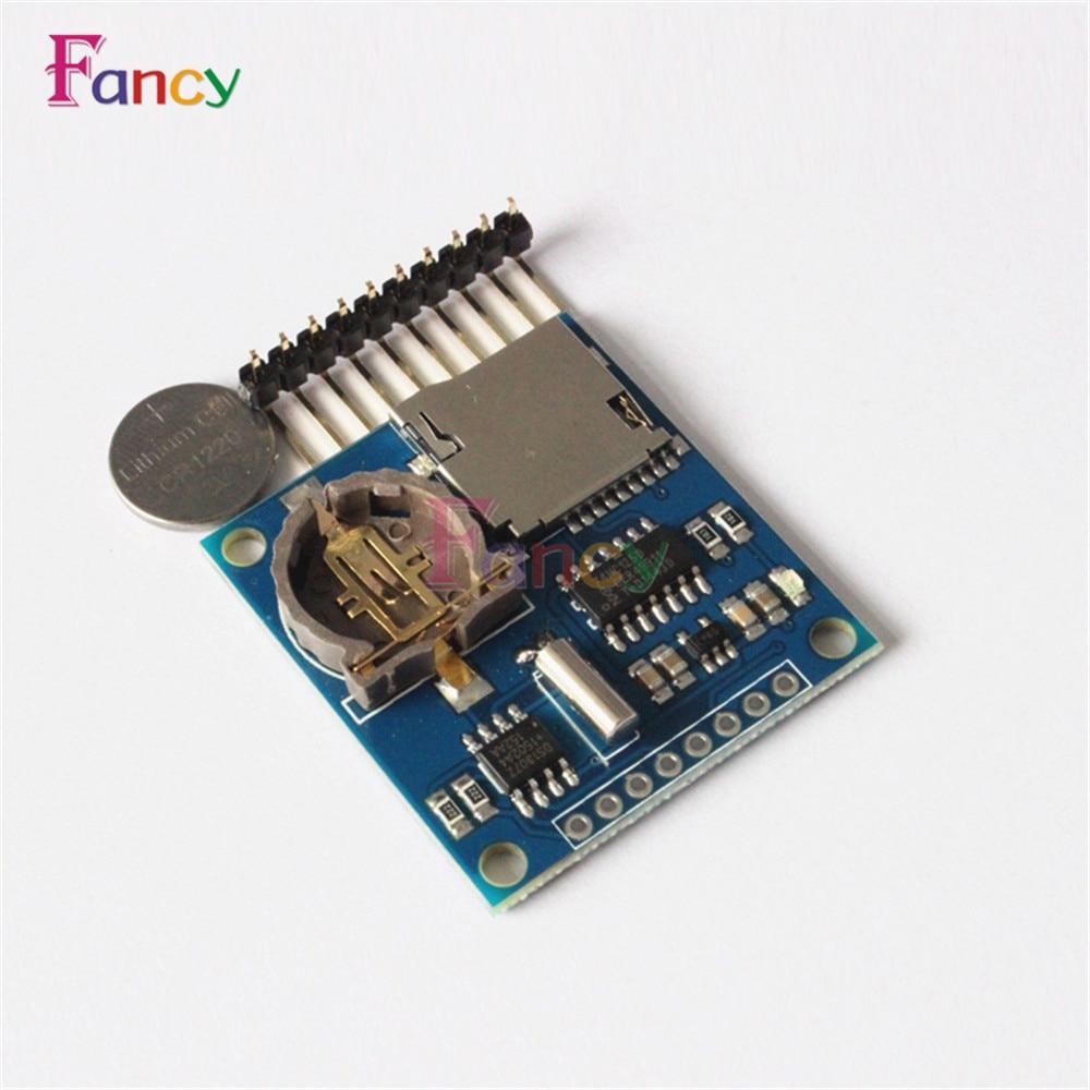 Mini Data Logger Module Logging Shield Module For Arduino For Raspberry Pi Recorder Module Shield SD Card 3.3V Regululator цена