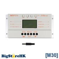 MPPT 30A Solar Controller Charger 5V USB Charger 12V 24V Solar Panel Battery LCD Charger Controller Auto Work MPPT 30 30Amps