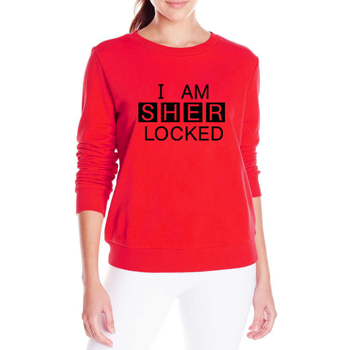 2019 Горячая куртка распродажа I Am Sher locked Письмо печати harajuku толстовки осенний флисовый хип-хоп брендовый костюм пуловер