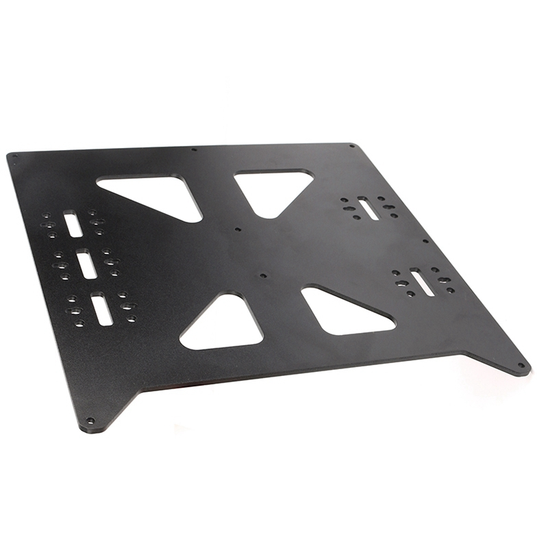Image 3 - Black Aluminum Y Carriage Anodized Plate Upgrade V2 Prusa I3 V2 Hot Bed Support Plate For Prusa I3 Diy 3D Printer Parts-in 3D Printer Parts & Accessories from Computer & Office