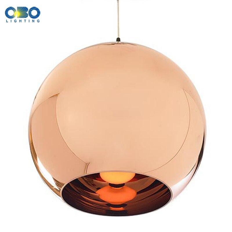 Vintage Gold/Silver Plated Glass Shade <font><b>Pendant</b></font> Lamp Cord 1-1.5m Wire Modern Shop/Bar/Hall <font><b>Pendant</b></font> Light E27 110*240V