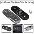 High Quality Black CNC Cut Air Cleaner Trim Cover For Harley Iron 883 Sportster XL883 1200