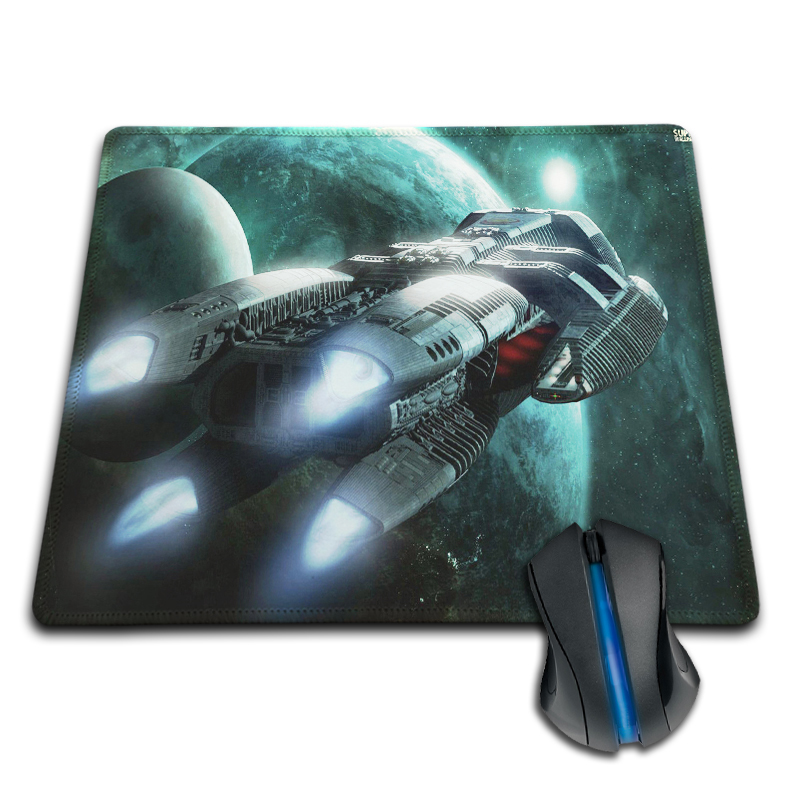 Babaite Pattern DIY Custom Best Battlestar Galactica Anti-Slip Laptop PC Mice Pad Mat for Optical Laser Mouse Drop Shipping
